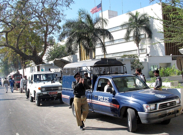 Bomb Attempt On US Consulate In Karachi Foiled