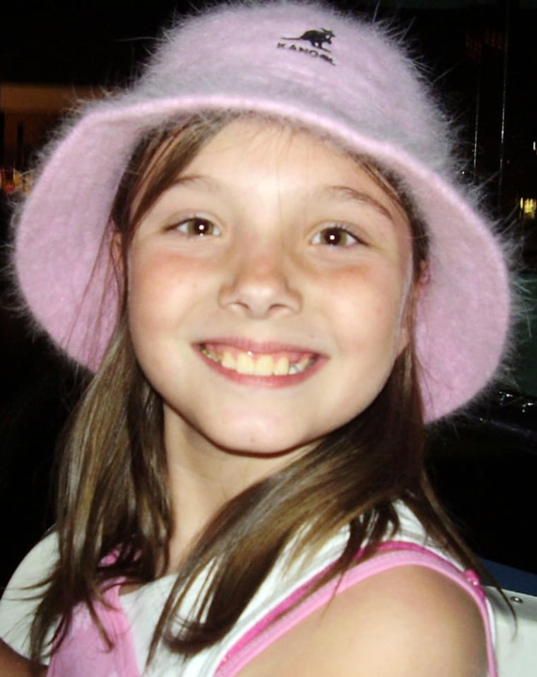 Missing 9-year-old Jessica Marie Lunsford in an undated photo.