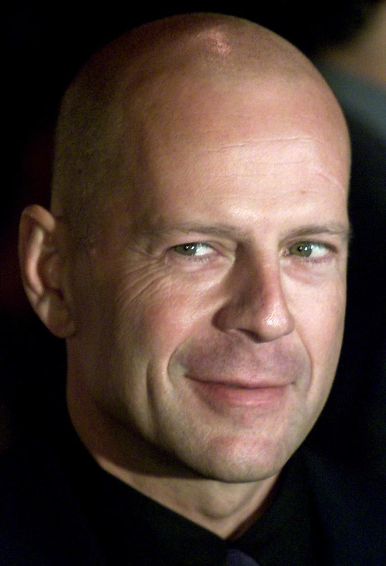 FILE PHOTO OF ACTOR BRUCE WILLIS WHO WILL STAR IN UPCOMING FILM ME AGAIN