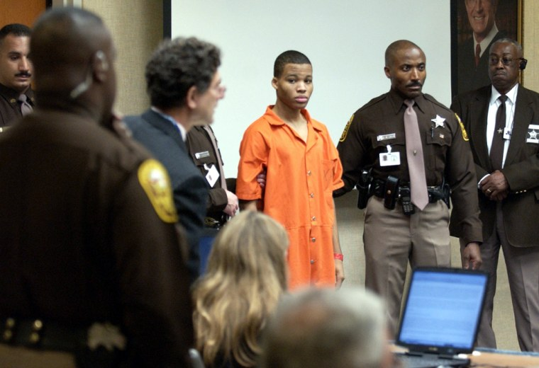 FILE PHOTO - Jury Recommends Sentence Of Life In Prison Without Parole For Sniper