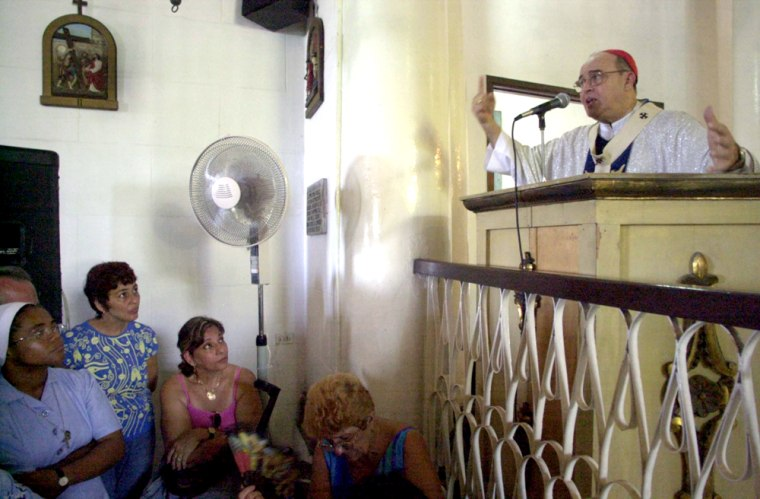Catholic Faithful Celebrate Virgin Of Regla In Cuba