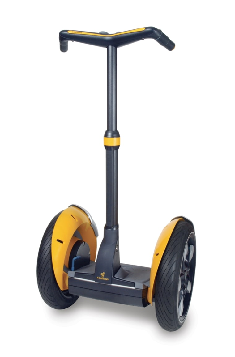 The new brightly colored sporty Segway