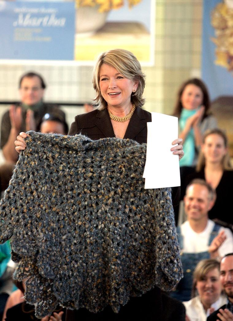 Martha Stewart Returns to Work At Omnimedia
