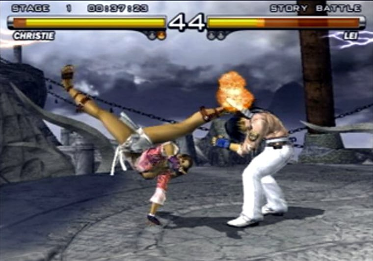 """""""TEKKEN 5"""" offers players a bewildering array of punches, blocks and kicks."""