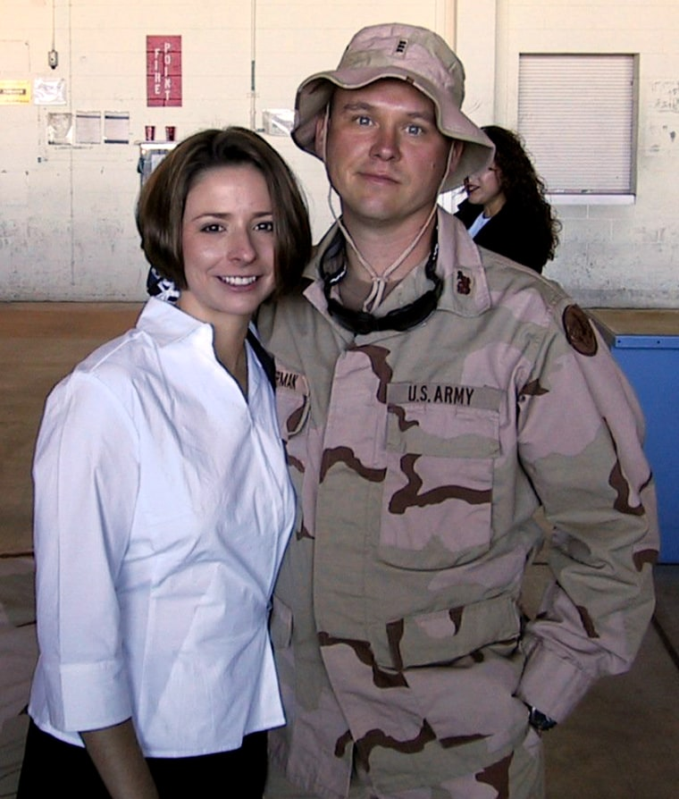 Herman and her husband, Chief Warrant Officer 3 Mark A. Herman, a pilot in Pegasus Troop, 4th Squadon 3rd ACR.