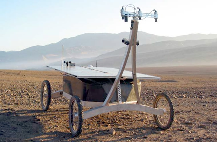 The Zoë rover was able to detect signs of life at Chile's Atacama Desert as part of a research program to understand how such measurements can be made by remote-operated robots.