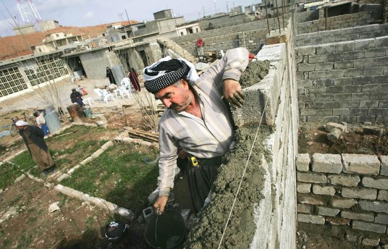 Kurds Build Homes in Kirkuk