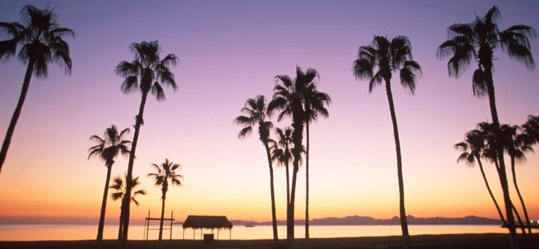 Sunset in Puerto Vallarta
