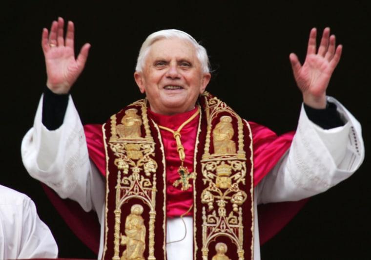 Your reaction: Pope Benedict XVI