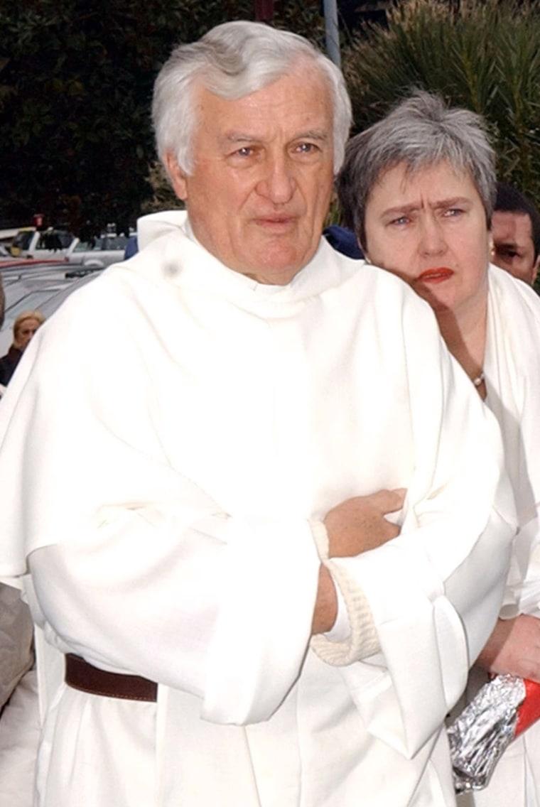 Polish Rev. Konrad Stanislaw Hejmo is seen in Rome on Feb. 26.