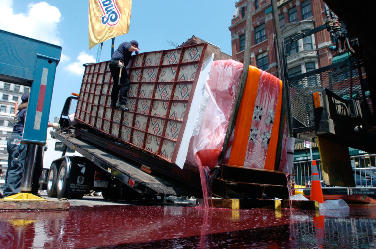 Snapple 'World's Largest Ice Pop' Disaster