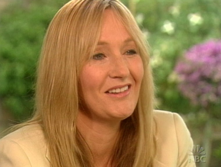 """J.K. Rowling talks to NBC's KatieCouric about her latest book """"HarryPotter and the Half-Blood Prince,""""and how her life has changed since the series."""