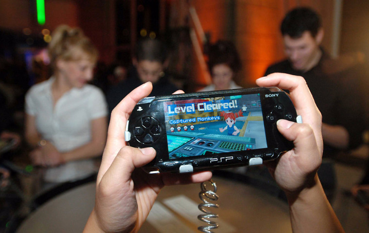NY: SONY PLAYSTATION PSP LAUNCH