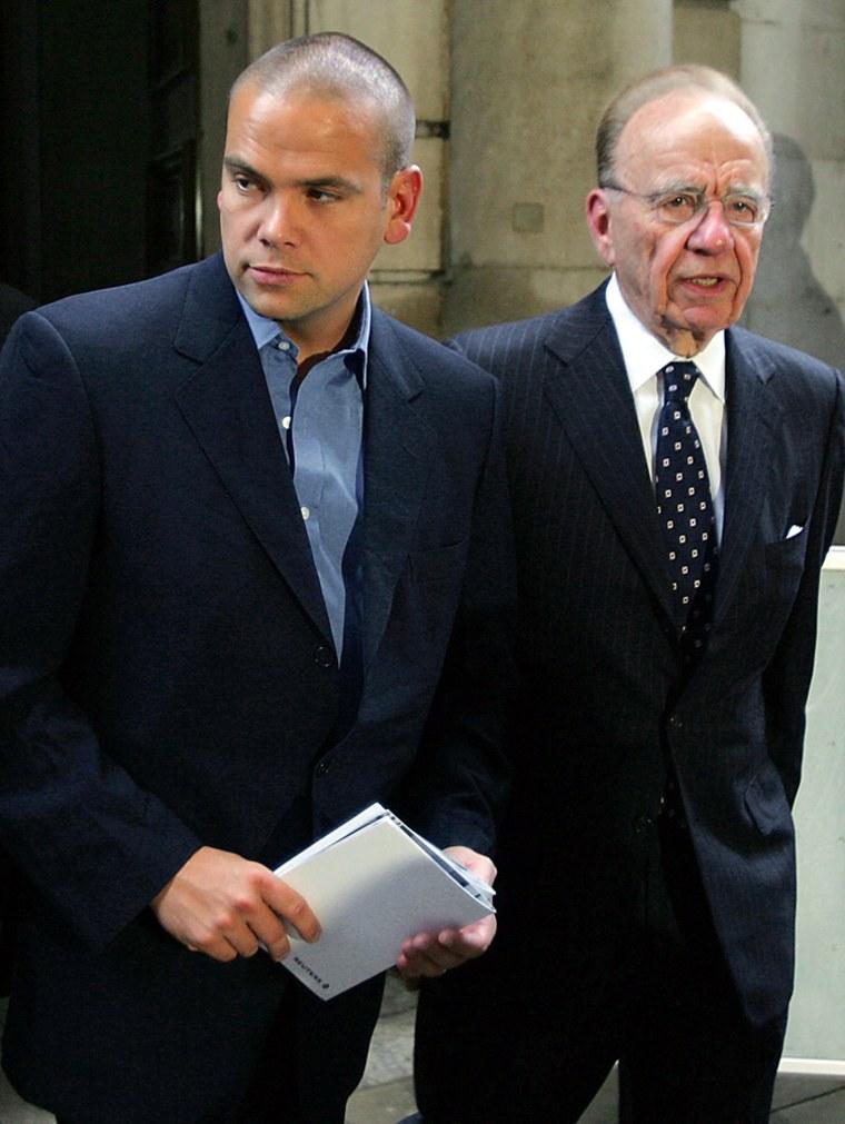 Australian media tycoon Rupert Murdoch (