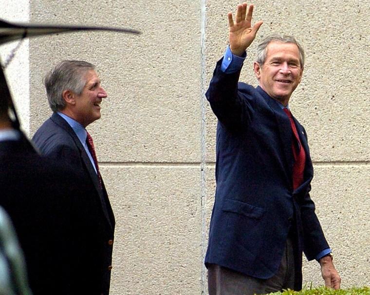 Bush Has Annual Physical