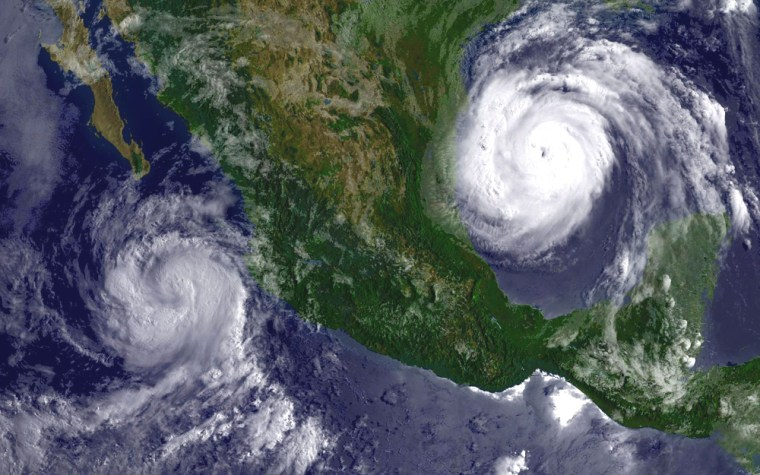 Hurricane Emily Slams Into Yucatan Peninsula