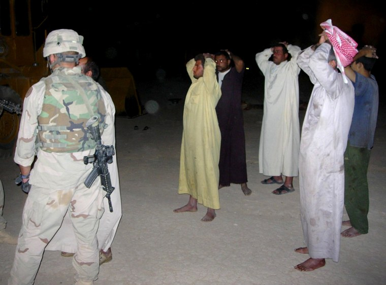 US ARMY SOLDIERS SEARCH FOR SMUGGLERS