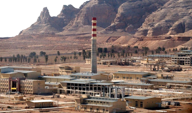Iran removed the final seals from reprocessing equipment at this Uranium Conversion Facility, just outside the city of Isfahan.