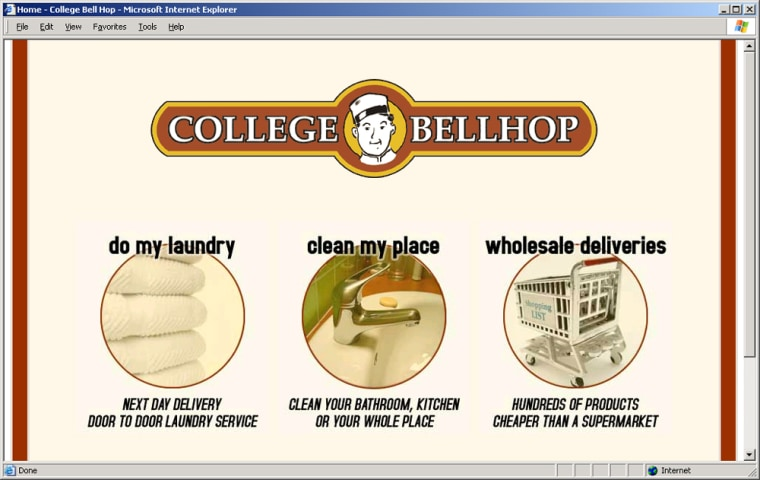 Alan Ringvald and Assaf Swissa started College Bellhop as college sophomores in 2002.