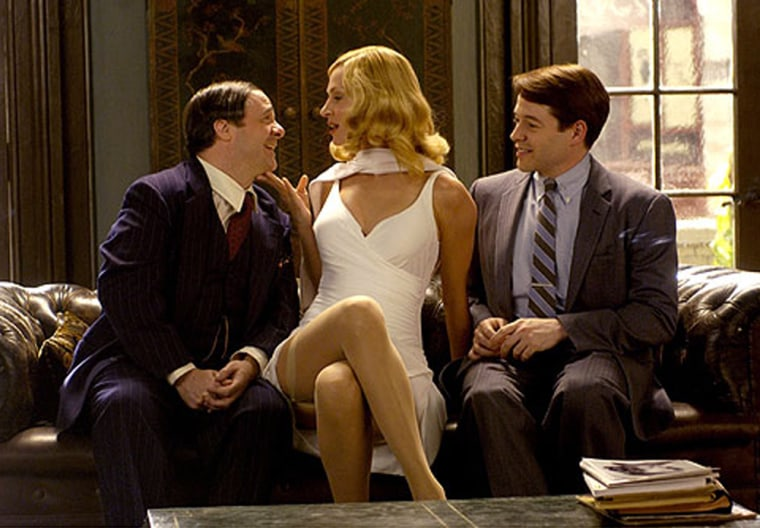 Uma Thurman, Matthew Broderick and Nathan Lane star in 'The Producers.'