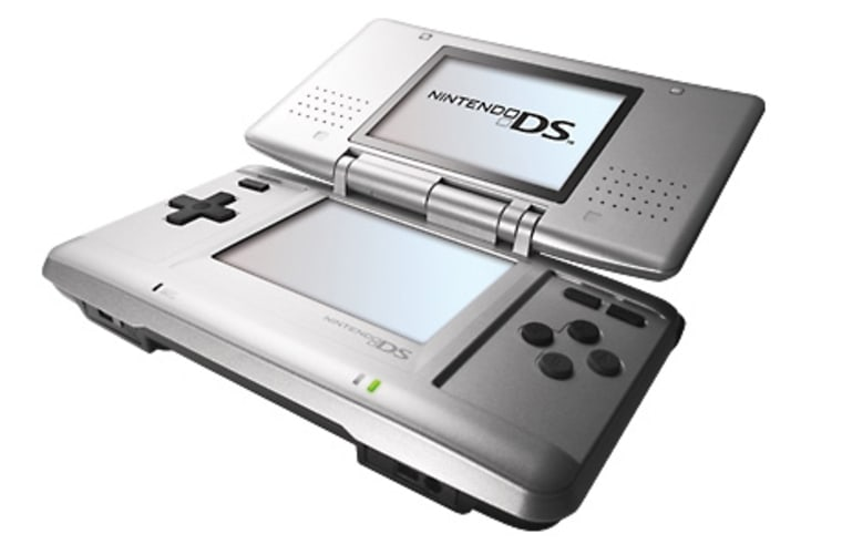 Nintendo's portable DS game system.