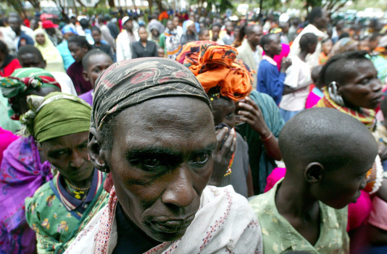 Thousands of Kenyans gather and weep at late Italian Bishop Luigi Locati's funeral in Isiolo town