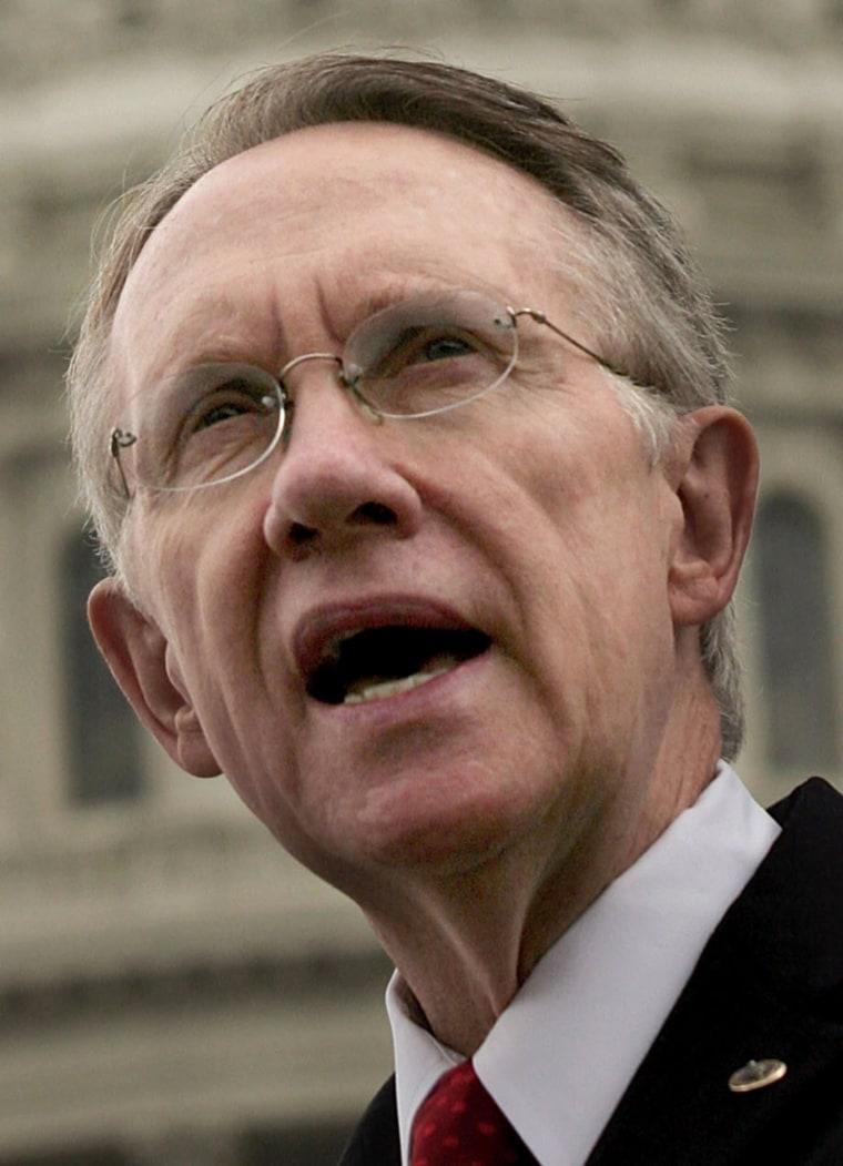Democrats Discuss 109th Congress Before August Recess