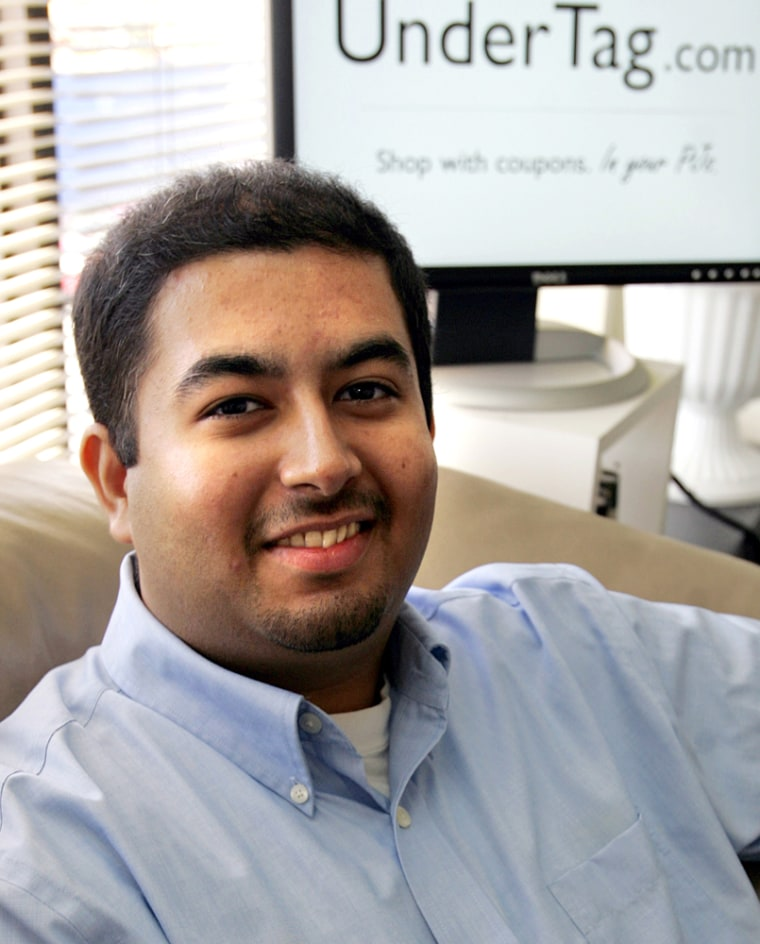 """Nishank Khanna is CEO of his own online-coupon Web site, but the 23-year-old doesn't know how to manage it yet. His father controls """"pretty much everything, from personal finances to business finances,"""" he said"""