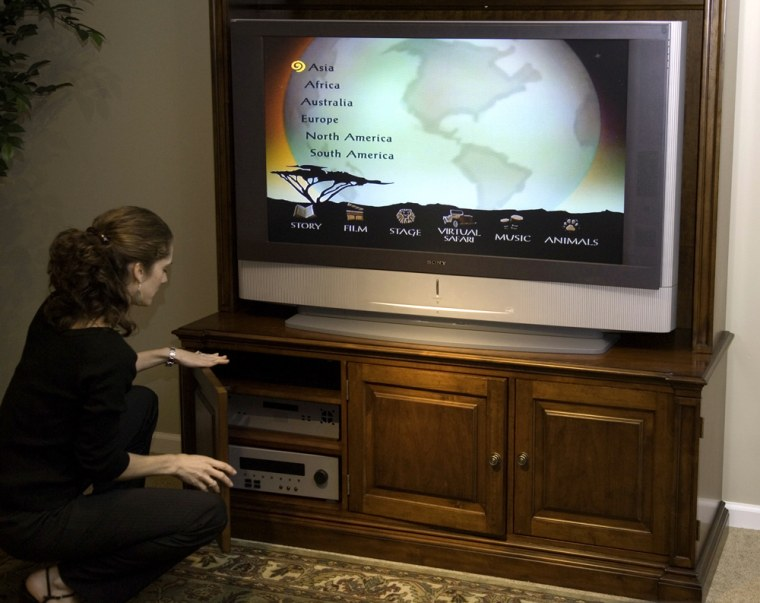 Moststands are designed to fitnew TVs that are rectangular and not as wide as older models.