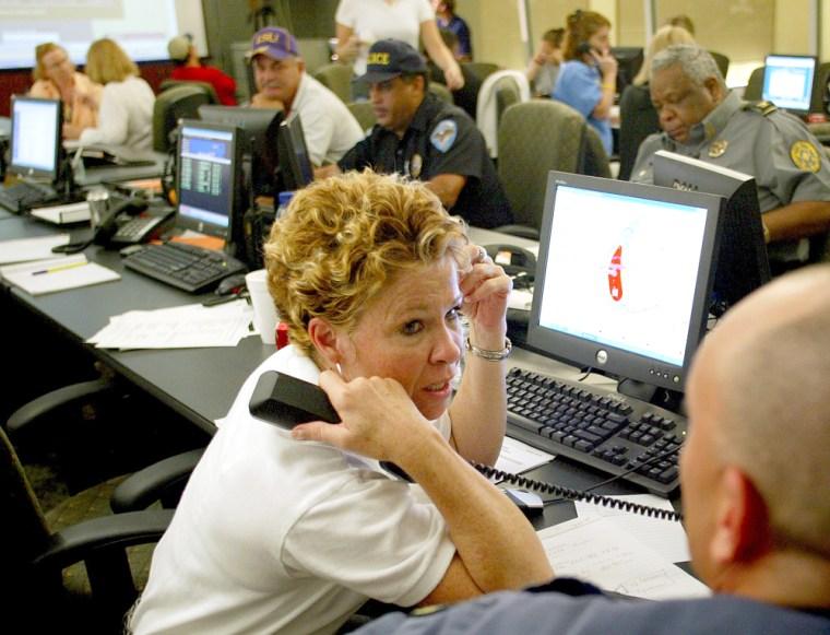 Baton Rouge get prepared Katrina's arrival - LA