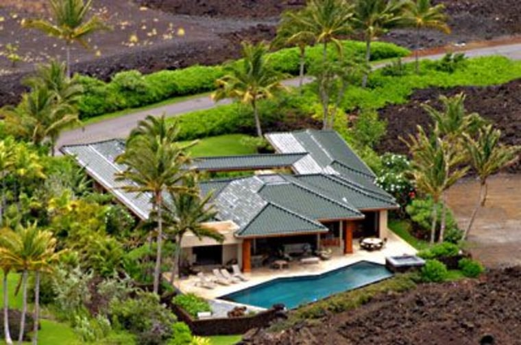 Located just 20 minutes north of the Big Island's Kona International Airport, this $11.7 residence is perched above Honoka'ope Bay at the Mauna Lani Resort, and includes membership in the Mauna Lani Advantage Club, plus access to two championship golf courses, a private beach club, full-service spa, residential concierge and tennis stadium.