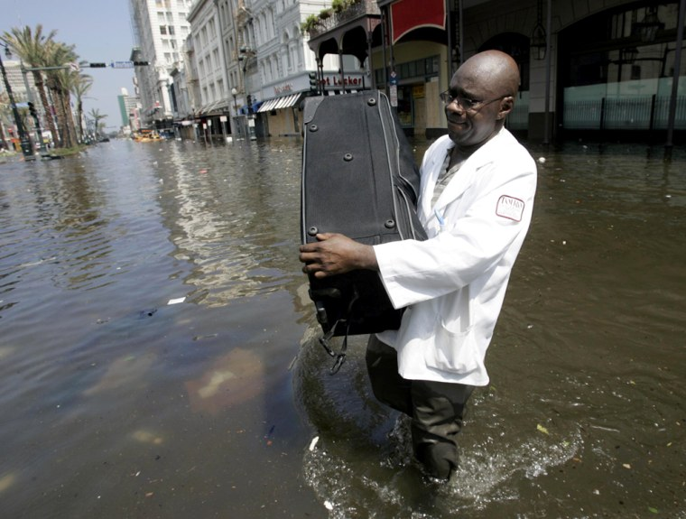 Rescue And Cleanup Efforts Continue In Katrina's Wake