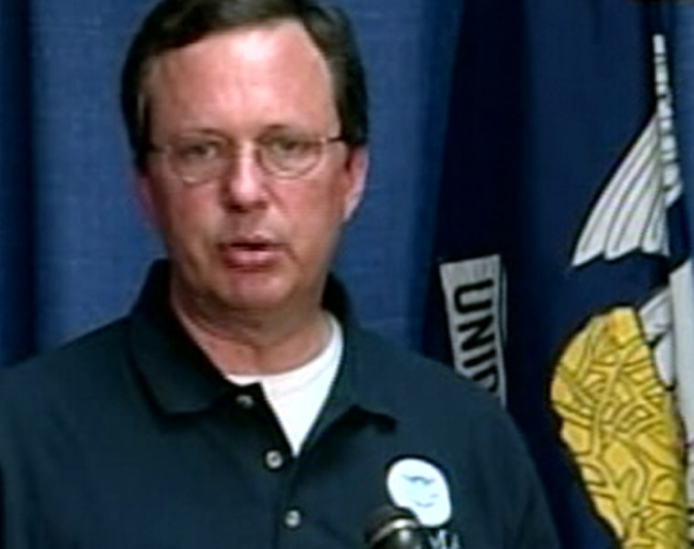 Federal disaster chief Michael Brown has emerged as the primary person taking blame for the government's inadequate response to Hurricane Katrina.