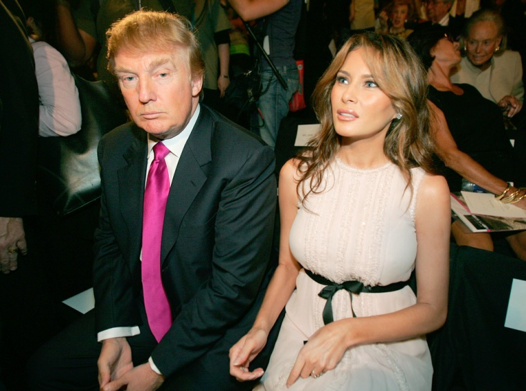 """""""I'm really happy because I wanted to get a really good price for the stockholders,"""" said Donald Trump after being outbid for land on Atlantic City's beachfront. Trump, pictured here with wife Melania Knauss, added,""""Whether I got it or not was not that important to me."""""""