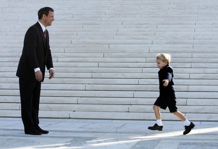 Chief Justice John Roberts Assumes His Duties At The Supreme Court