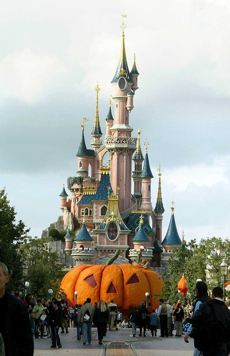 MARNE LA VALLEE : Disneyland Resort Paris celebre Halloween.