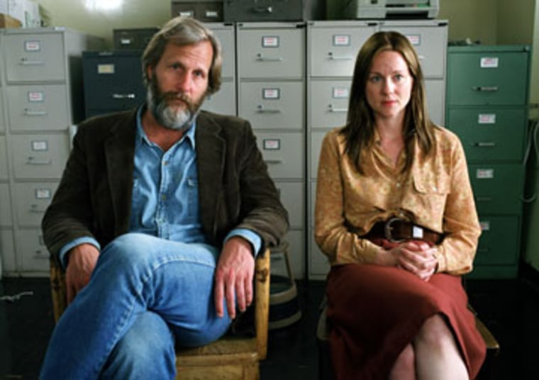 """Jeff Daniels and Laura Linney each received best acting nominations for their performances in""""The Squid and the Whale."""" The film also received a nomination for best movie, musical or comedy."""