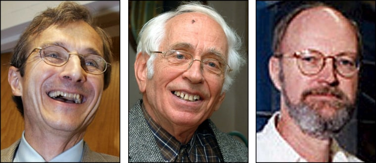 Richard Schrock, Yves Chauvin and Robert Grubbs have won the Nobel Prize for chemistry for the development of the metathesis method in organic synthesis — an environmentally friendlyprocess for making products ranging from baseball bats to biodiesel fuel.