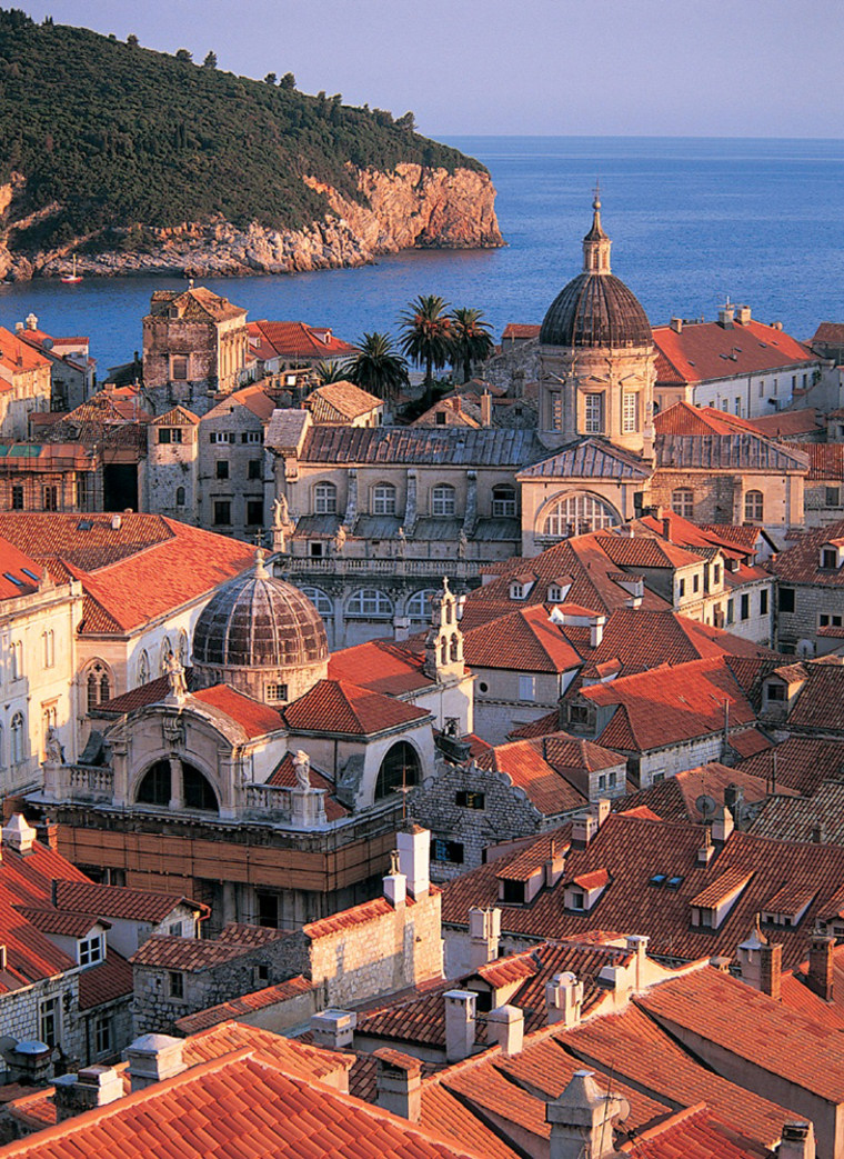 """Dubrovnik's fine position over the Addriatic earned it the sobriquet """"Jewel of the Adriatic""""."""
