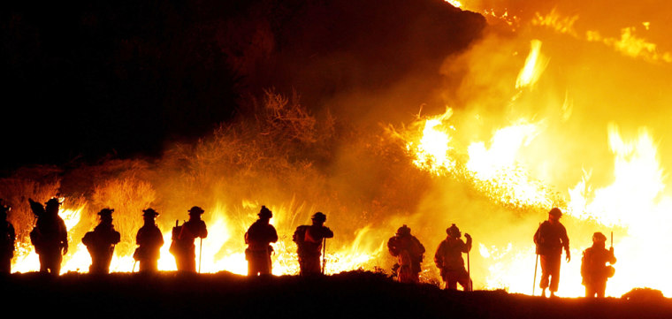 New Wildfire Spreads Rapidly In Riverside County