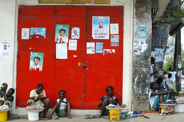 LIBERIA ELECTION BUILD UP