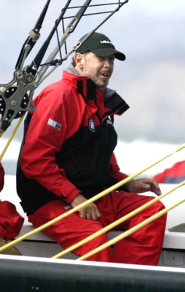Larry Ellison is an experienced yachtsman, and for fun sails on his 452-food yacht, Rising Sun, said to be the world's largest personal yacht.