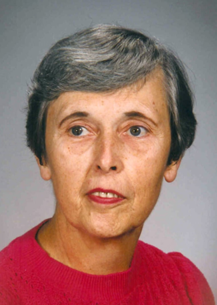 Mary Jane Burton's unusual habit of saving samples of the evidence she tested led to the exoneration of three men, years after her death in 1999.