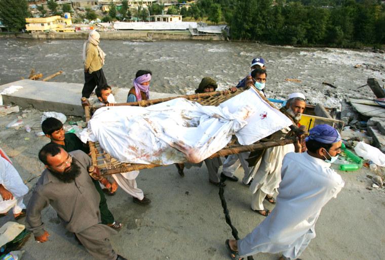 Earthquake Death Toll Estimated At 54,000