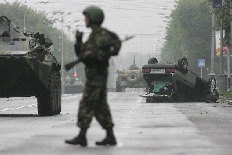 Rebels Attack in Russia