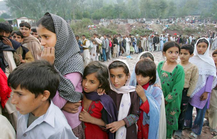 Earthquake Survivors In Muzaffarbad Await Aid