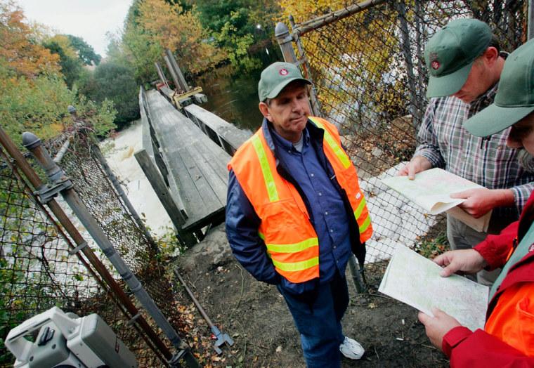 Massachusetts Town Center Evacuated Over Dam Break Fears