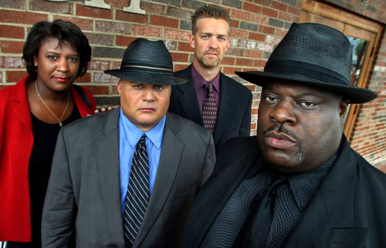 The D.C. natural squad team includes (left to right) Detectives Susan Blue, Jed Worrell, Chris MacWilliams and Randy Brooks.