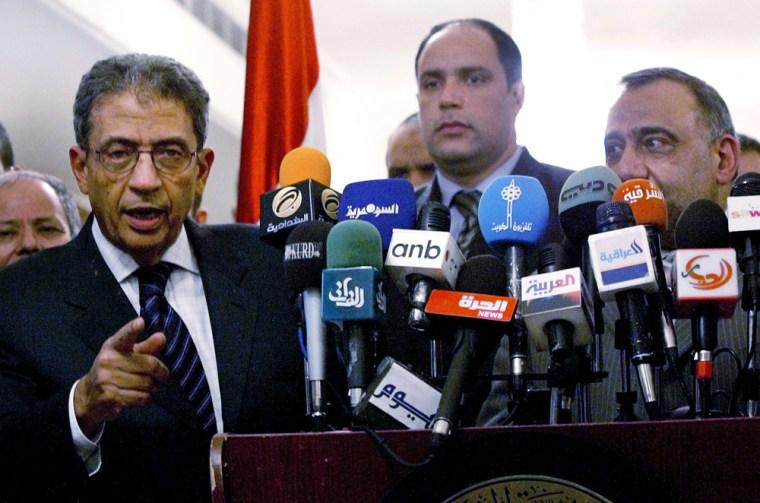 Arab League Chief Visits Iraq