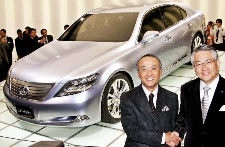 Japan's auto giant Toyota President Kats